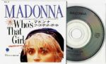 "WHO'S THAT GIRL - JAPAN  3"" CD (WPDR-3115)"
